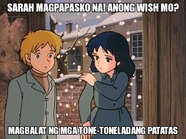 Funny Memes Tagalog Princess Sarah : Princess sarah the s cartoon character goes viral with